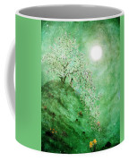 Daffodil Dream Meditation Coffee Mug