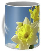 Daffodil Flowers Artwork Floral Photography Spring Flower Art Prints Coffee Mug