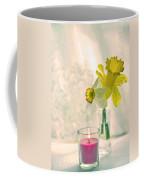 Daffodils And The Candle V3 Coffee Mug