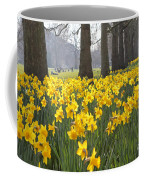 Daffodils In St James Park London Coffee Mug
