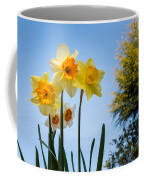 Daffodils In The Sky Coffee Mug