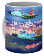 Daggers Over Madison In Oil Coffee Mug