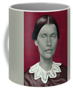 Daguerreotype Lady Detail Coffee Mug