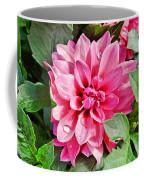 Dahlia Dripping Coffee Mug