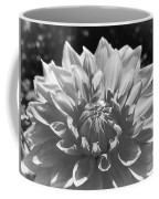Dahlia In Black And White 2 Coffee Mug