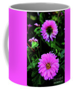 Dahlia Mirror Coffee Mug