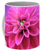 Dahlia On Color Coffee Mug