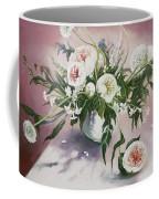 Dahlia Vase  Coffee Mug