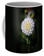 Dahlia White Flowers II Coffee Mug