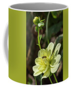 Dahlia With Wasp Coffee Mug