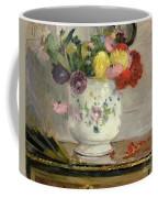 Dahlias Coffee Mug by Berthe Morisot