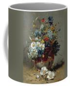 Daisies And Cornflowers Coffee Mug