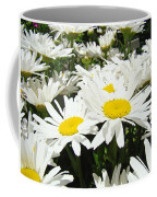 Daisies Floral Landscape Art Prints Daisy Flowers Baslee Troutman Coffee Mug
