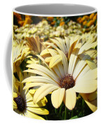 Daisies Flowers Landscape Art Prints Daisy Floral Baslee Troutman Coffee Mug