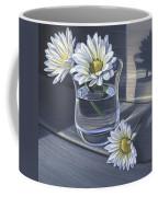 Daisies In Drinking Glass No. 2 Coffee Mug