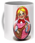 Daisy Balalaika Chime Doll Coffee Mug