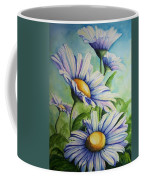 Daisy Blue Coffee Mug