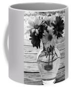 Daisy Crazy Bw Coffee Mug