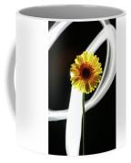 Daisy In White Coffee Mug