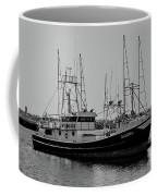Dalena Black And White Coffee Mug