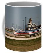Dallas Airport And Skyline Coffee Mug