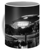 Dallas Cowboys Stadium Bw 032115 Coffee Mug