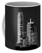 Dallas Shapes Monochrome Coffee Mug