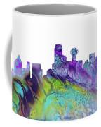 Dallas Skyline 4 Coffee Mug
