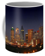 Dallas Skyline At Dusk  Coffee Mug