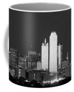 Dallas Skyline Bw 113017 Coffee Mug