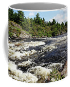 Dalles Rapids French River II Coffee Mug