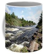 Dalles Rapids French River Iv Coffee Mug