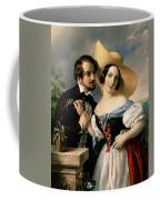 Dalliance Coffee Mug by Miklos Barabas