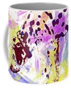 Dalmatian Dog Snow Bland And White  Coffee Mug