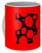 Dalmatian Pattern With A Black Background 02-p0173 Coffee Mug