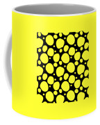 Dalmatian Pattern With A Black Background 05-p0173 Coffee Mug
