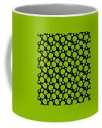Dalmatian Pattern With A Black Background 09-p0173 Coffee Mug