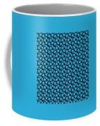 Dalmatian Pattern With A Black Background 18-p0173 Coffee Mug