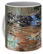 Dam Beavers Coffee Mug by Phil Chadwick