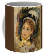 Dame En Toilette De Ville 1875 Coffee Mug