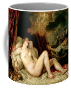 Danae Receiving The Shower Of Gold Coffee Mug by Titian