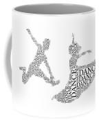 Dance Couple Words Coffee Mug