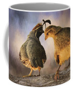 Dance Of The Quail Coffee Mug
