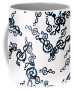 Dance Of The Treble Clef  Coffee Mug