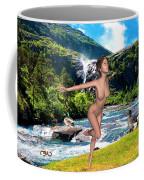 Dance To The Waterfall Coffee Mug