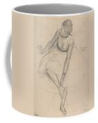 Dancer Adjusting Her Slipper Coffee Mug