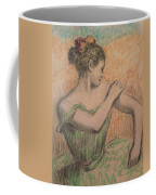 Dancer Coffee Mug by Degas