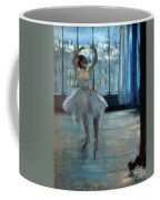 Dancer In Front Of A Window Coffee Mug