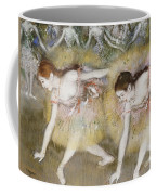 Dancers Bending Down Coffee Mug