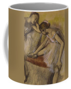 Dancers In Repose Coffee Mug by Edgar Degas
